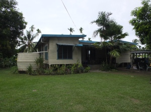 The house today which is now owned by PNG Nationals.